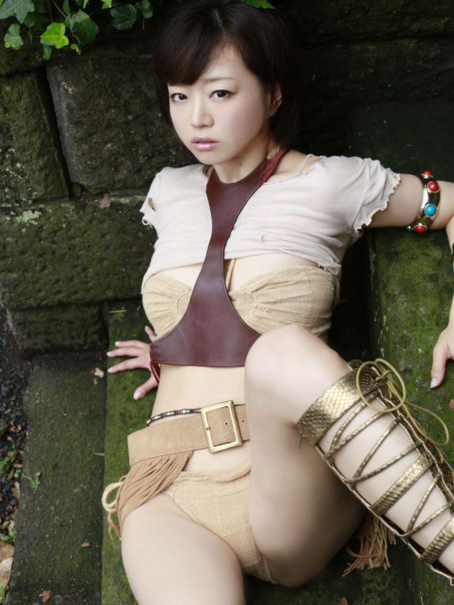 チャイナ服 喜屋武ちあき セクシー画像 62