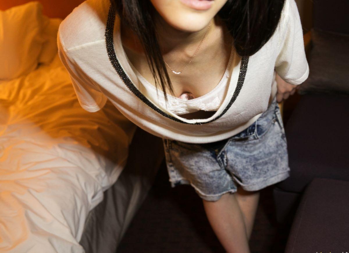 顎がしゃくれたシャクレ女のハメ撮りエロ画像 119