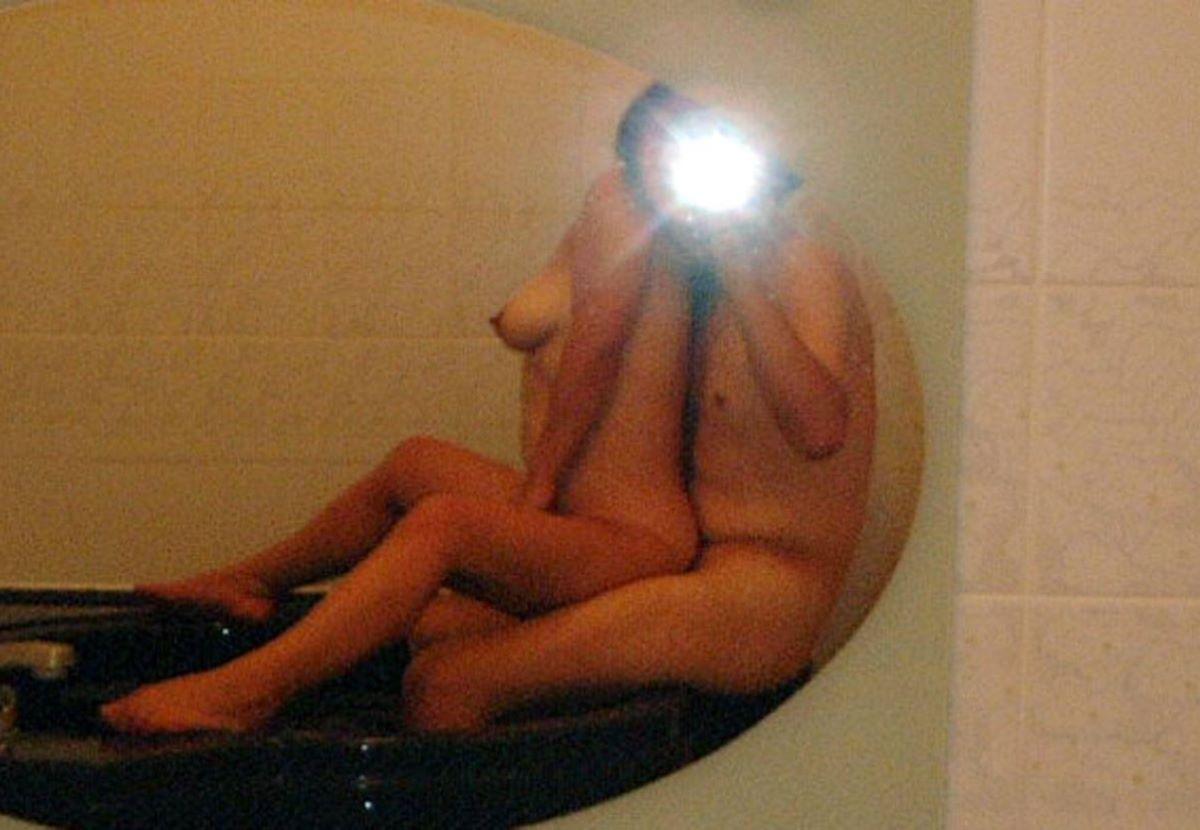 鏡撮り 素人 エロ画像 46