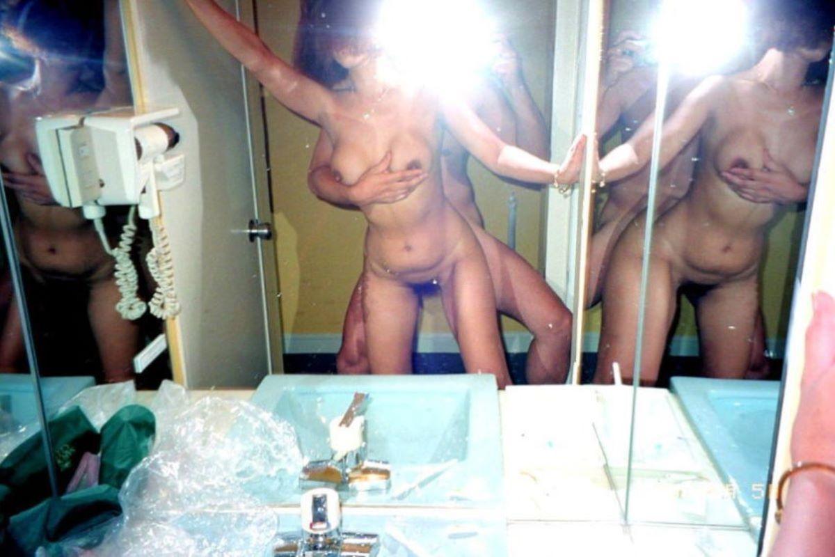 鏡撮り 素人 エロ画像 71