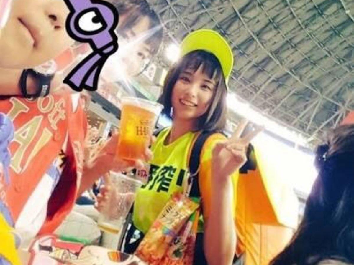 ヤフオクドーム ビール 売り子 エロ画像 4