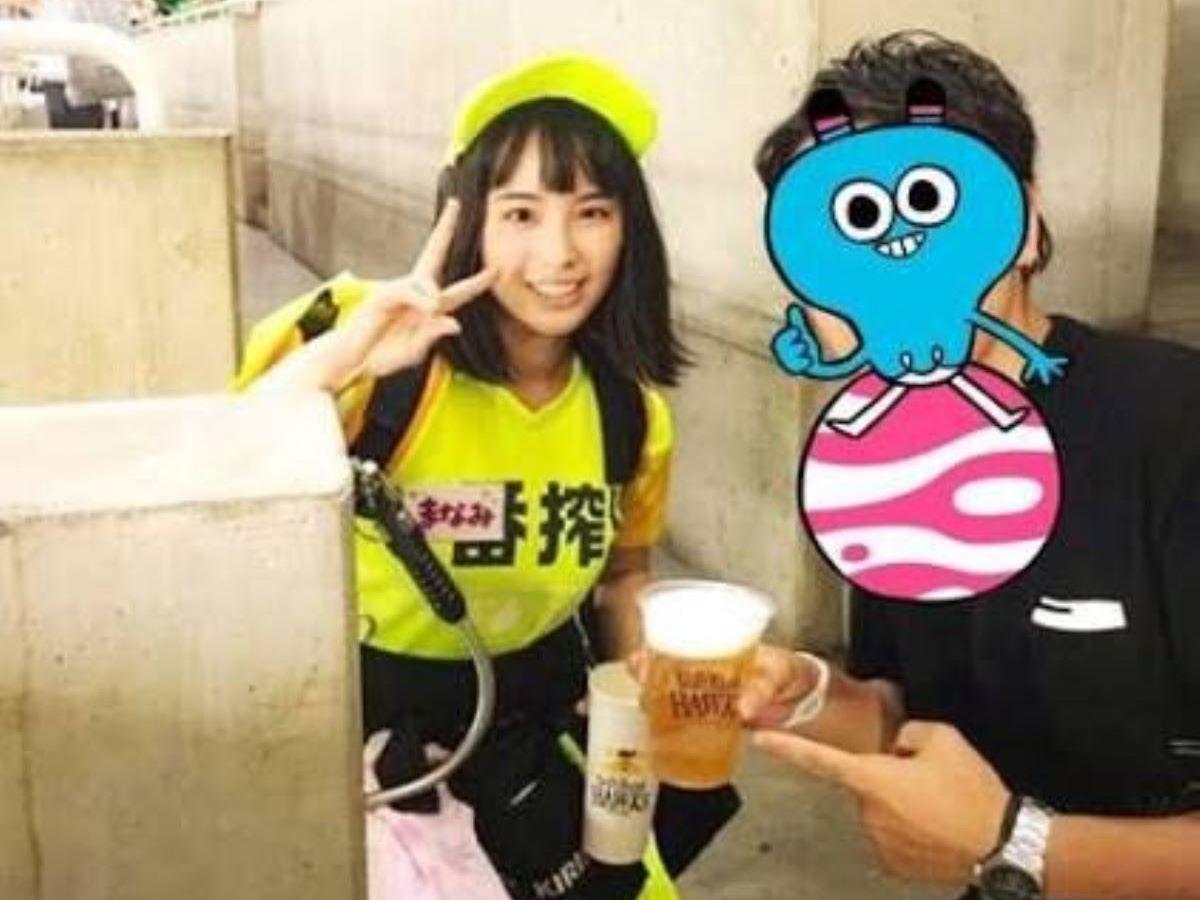 ヤフオクドーム ビール 売り子 エロ画像 5