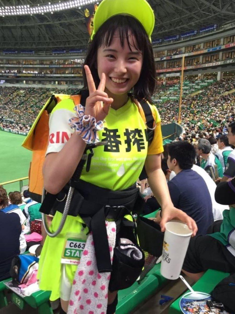 ヤフオクドーム ビール 売り子 エロ画像 6