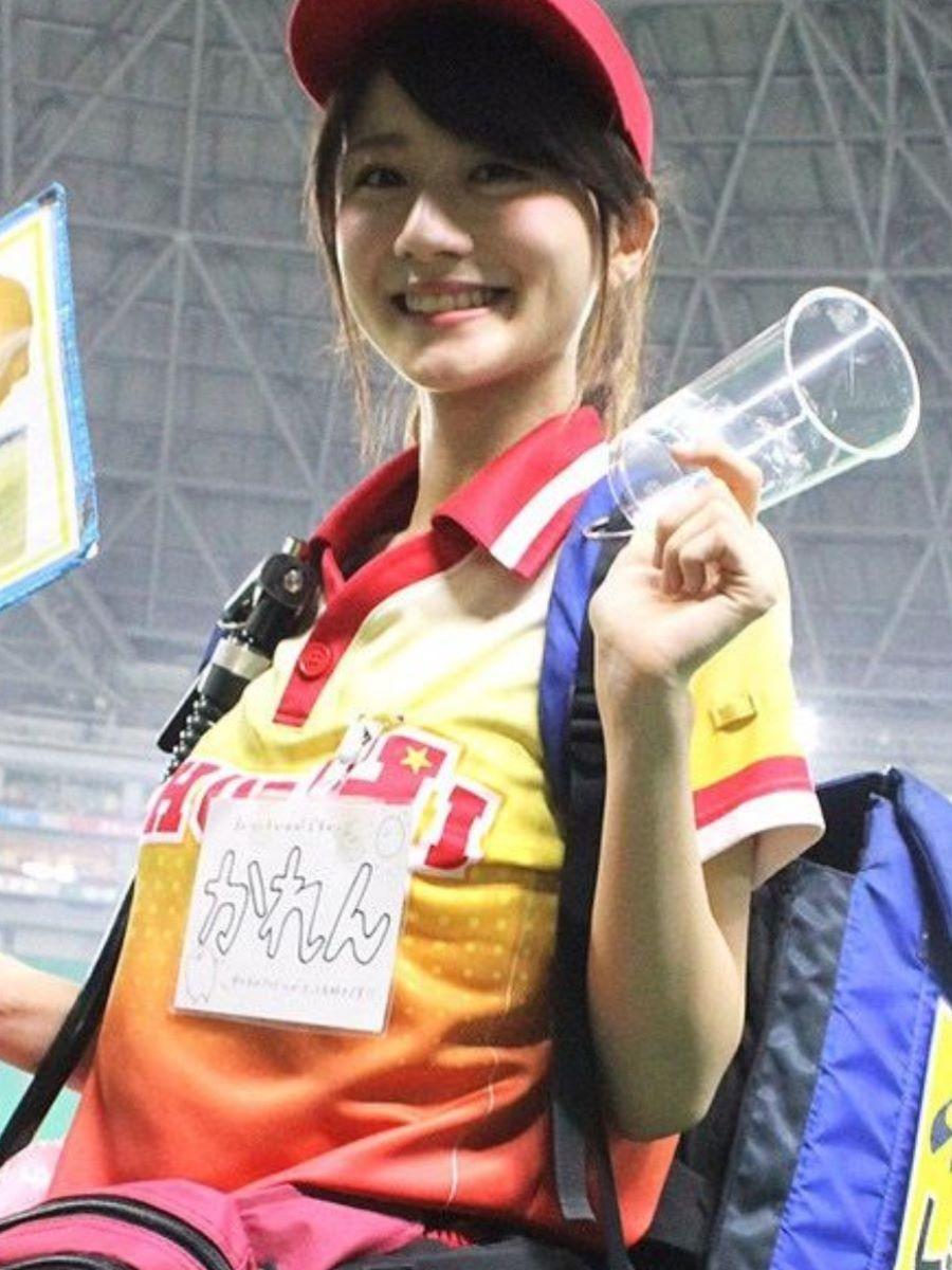 ヤフオクドーム ビール 売り子 エロ画像 10