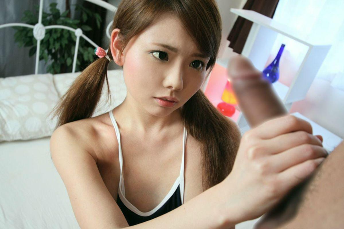 手コキ エロ画像 39