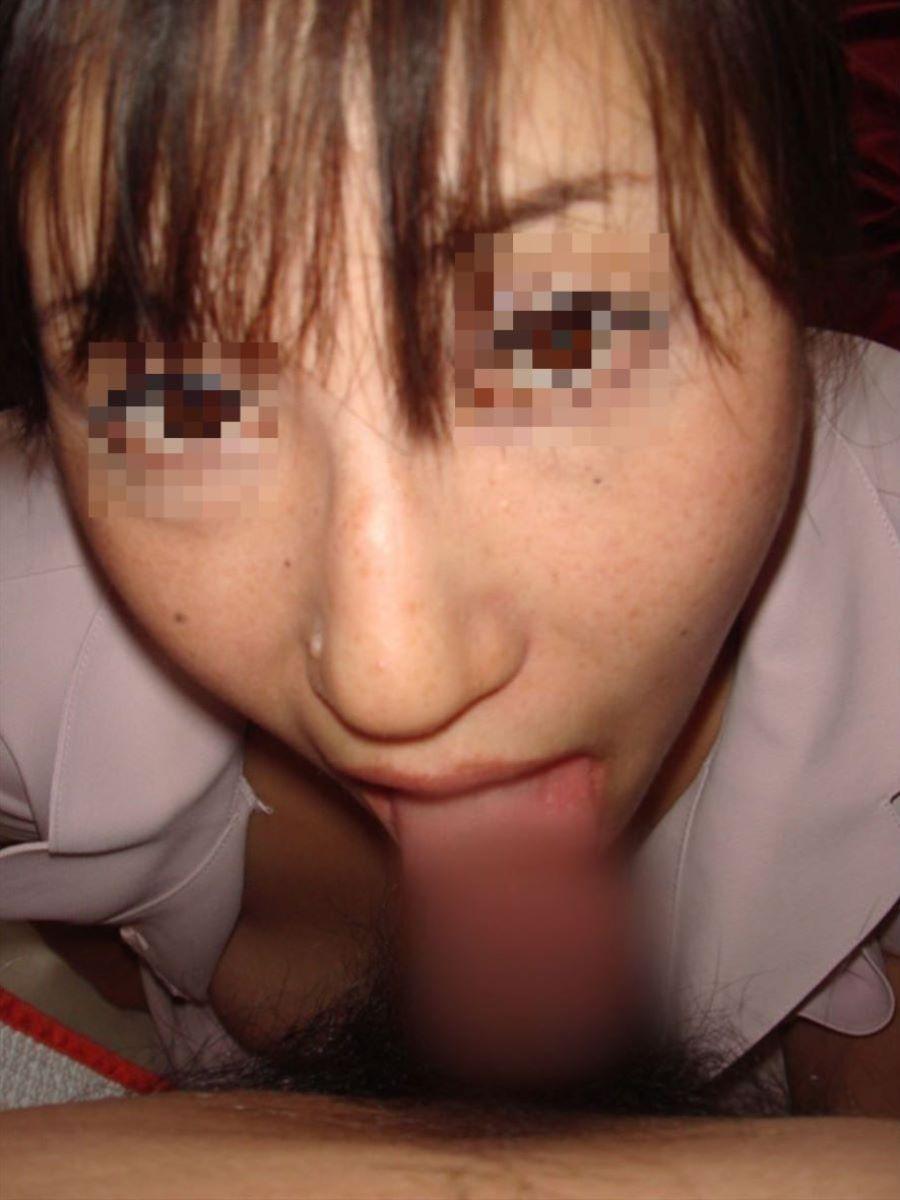 素人 熟女 フェラ画像 60
