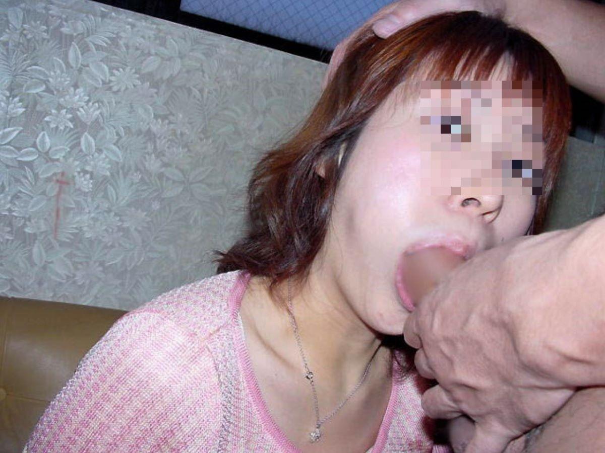 素人 熟女 フェラ画像 88