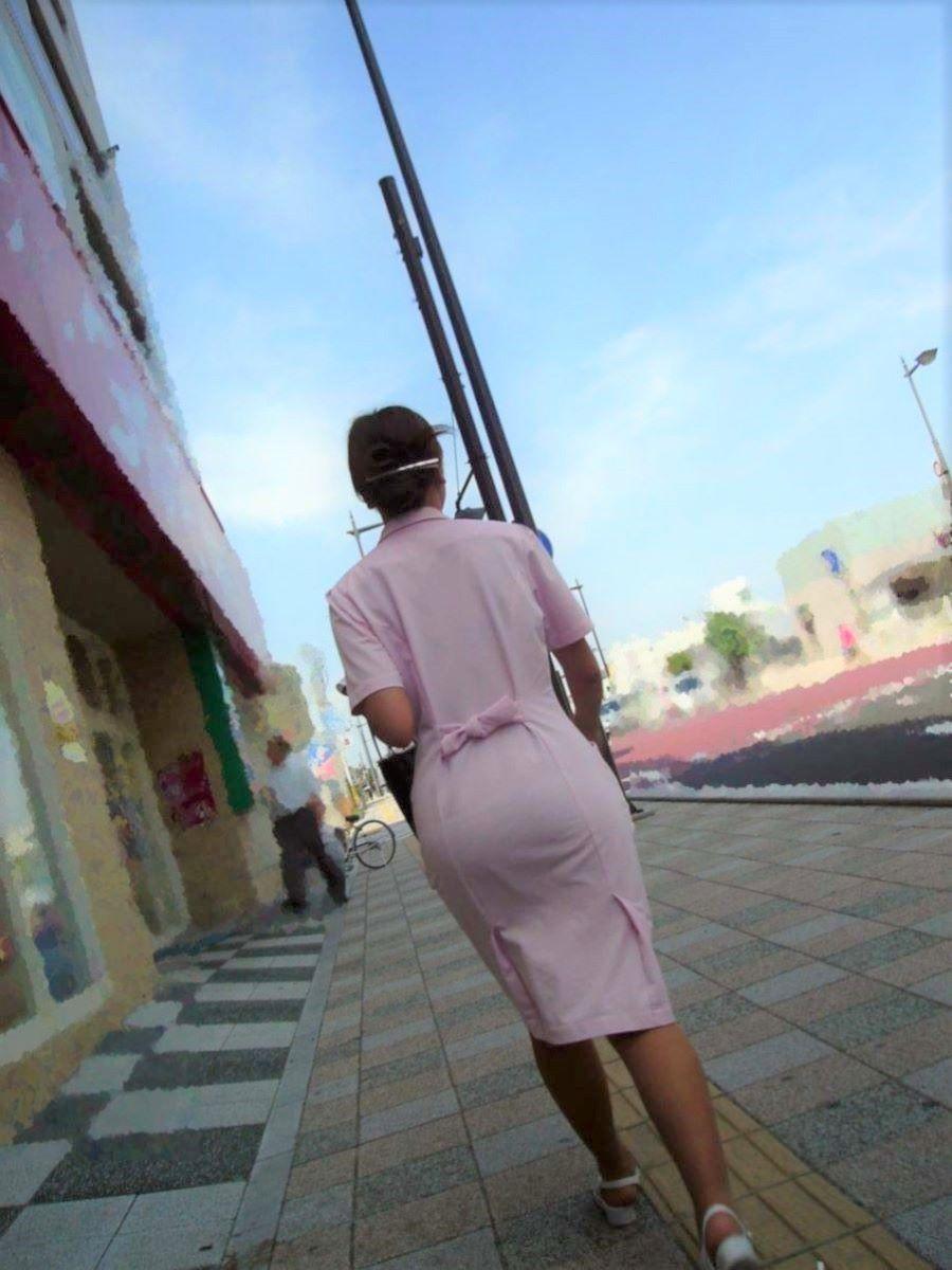 街撮り 素人ナース画像 28