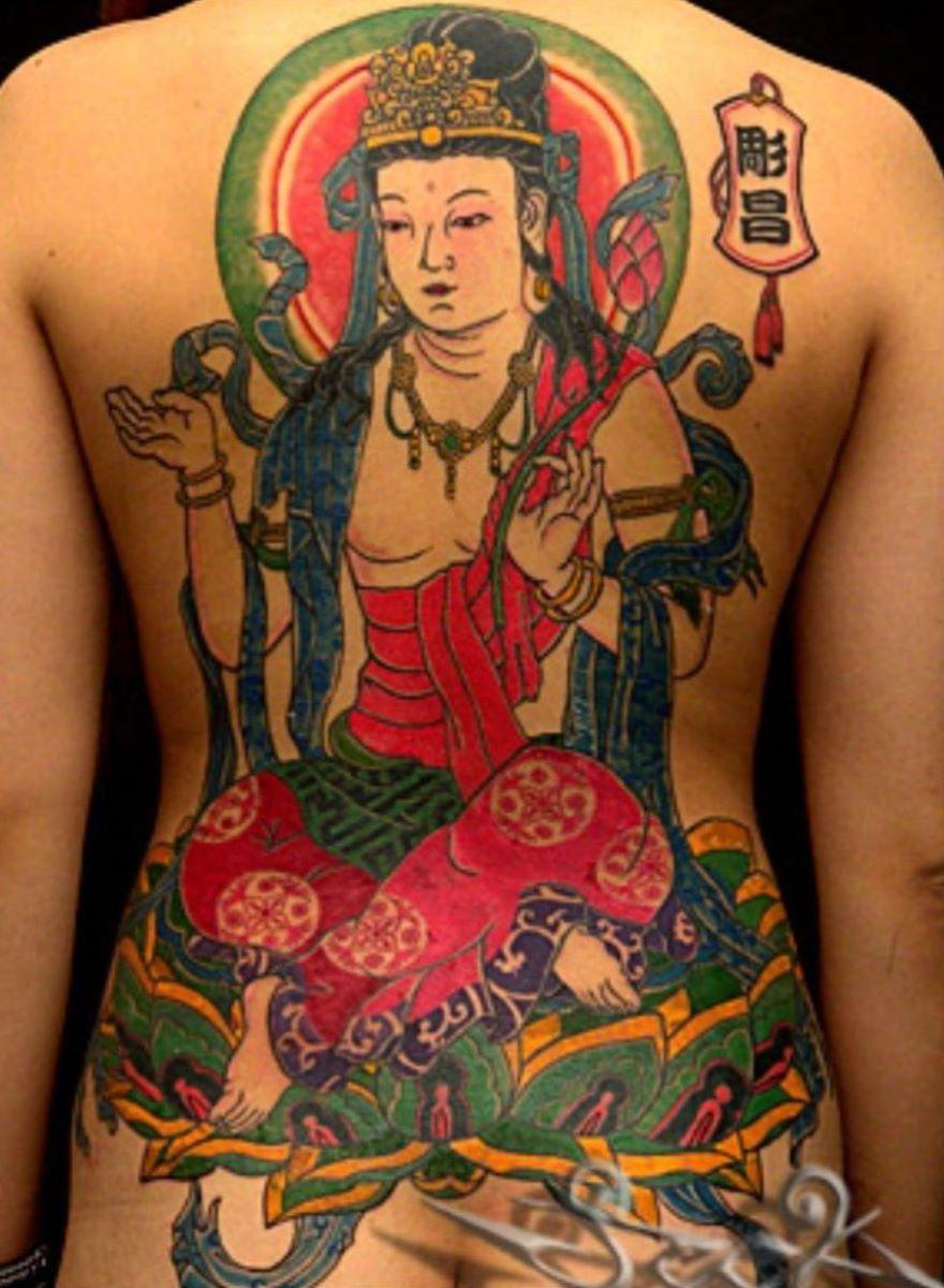 和彫りの刺青エロ画像 10