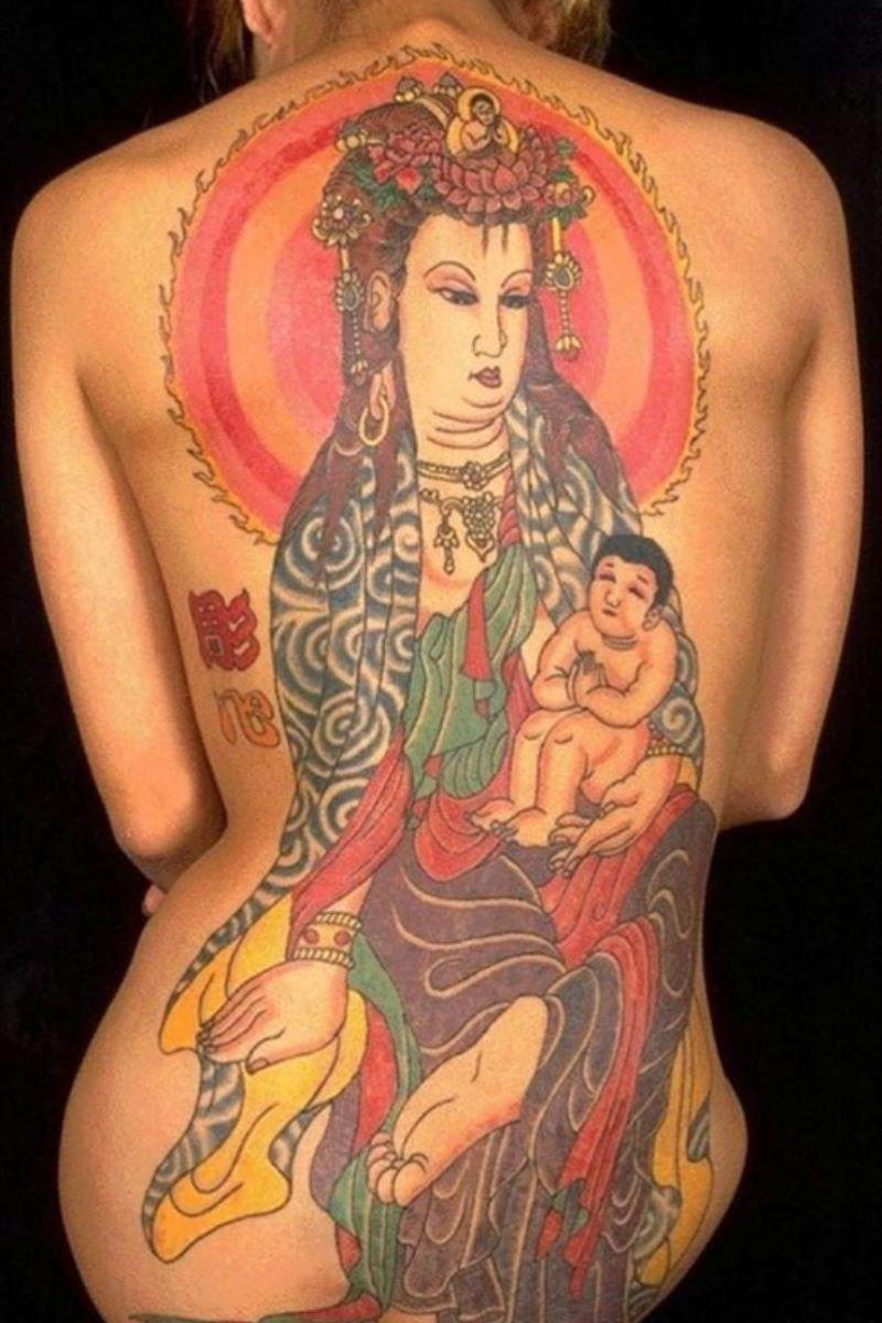 和彫りの刺青エロ画像 31