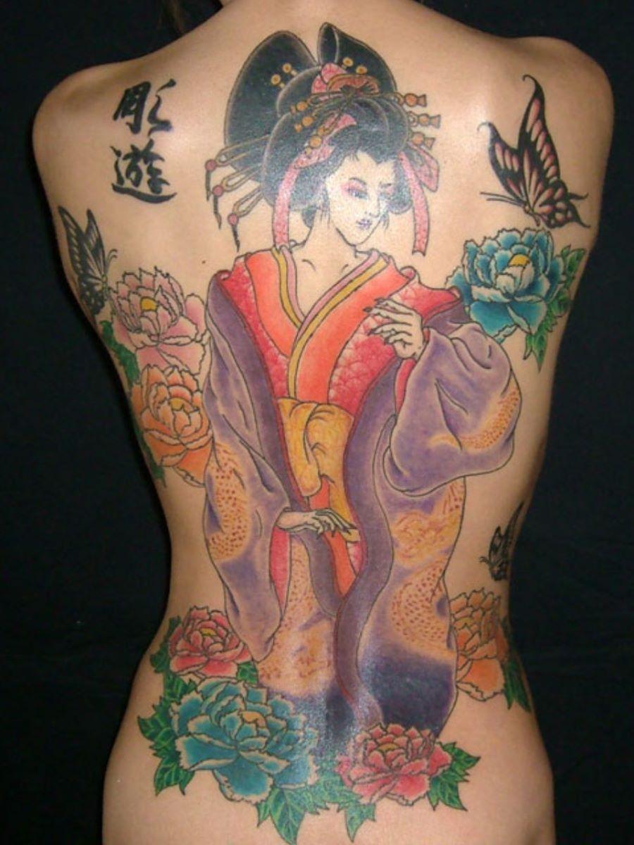 和彫りの刺青エロ画像 38