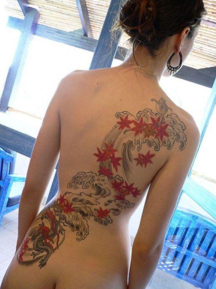 和彫りの刺青エロ画像 40