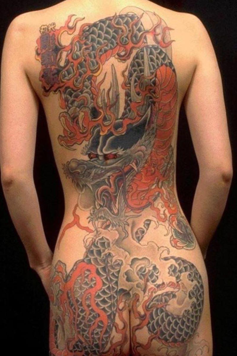 和彫りの刺青エロ画像 56