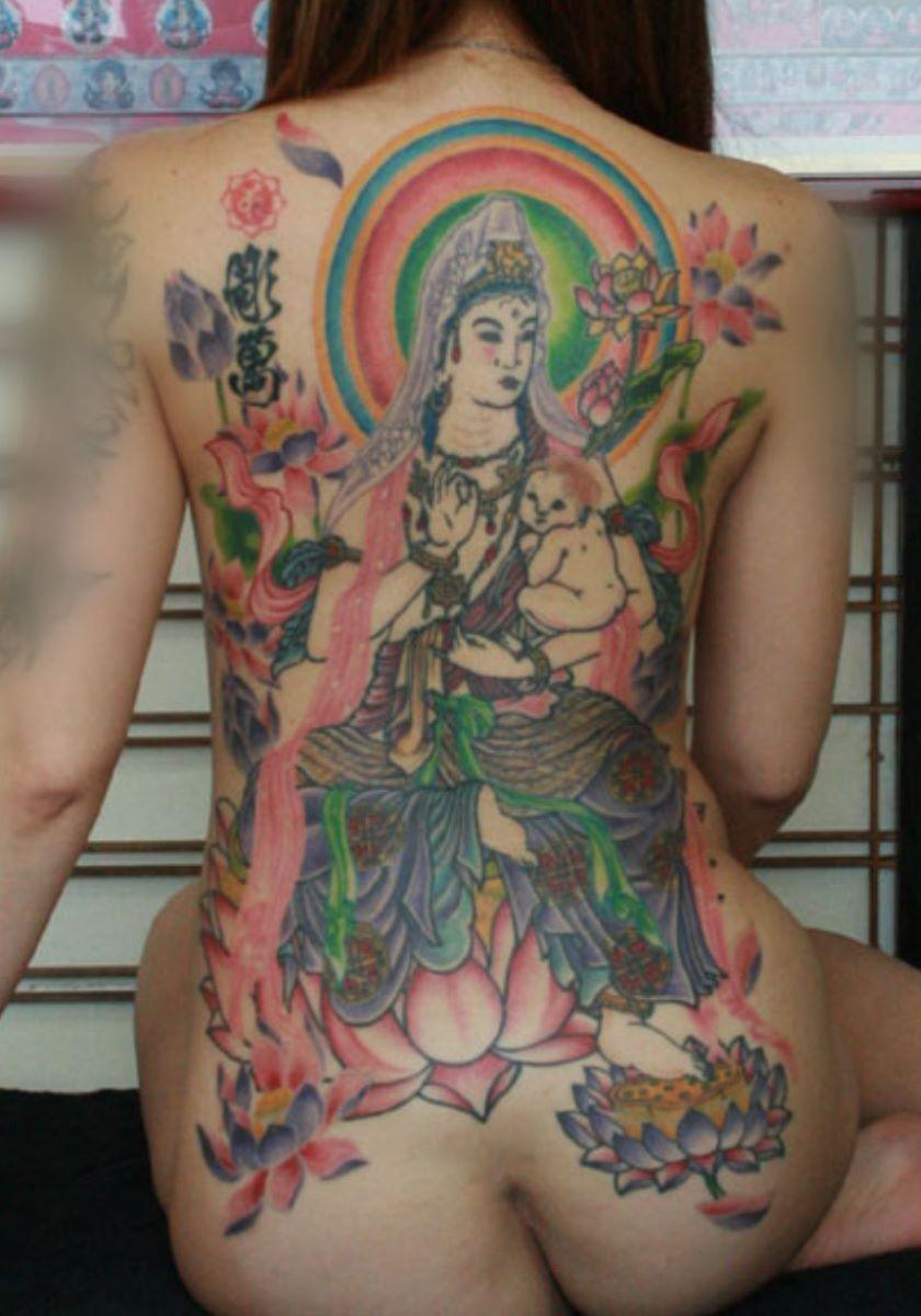 和彫りの刺青エロ画像 67