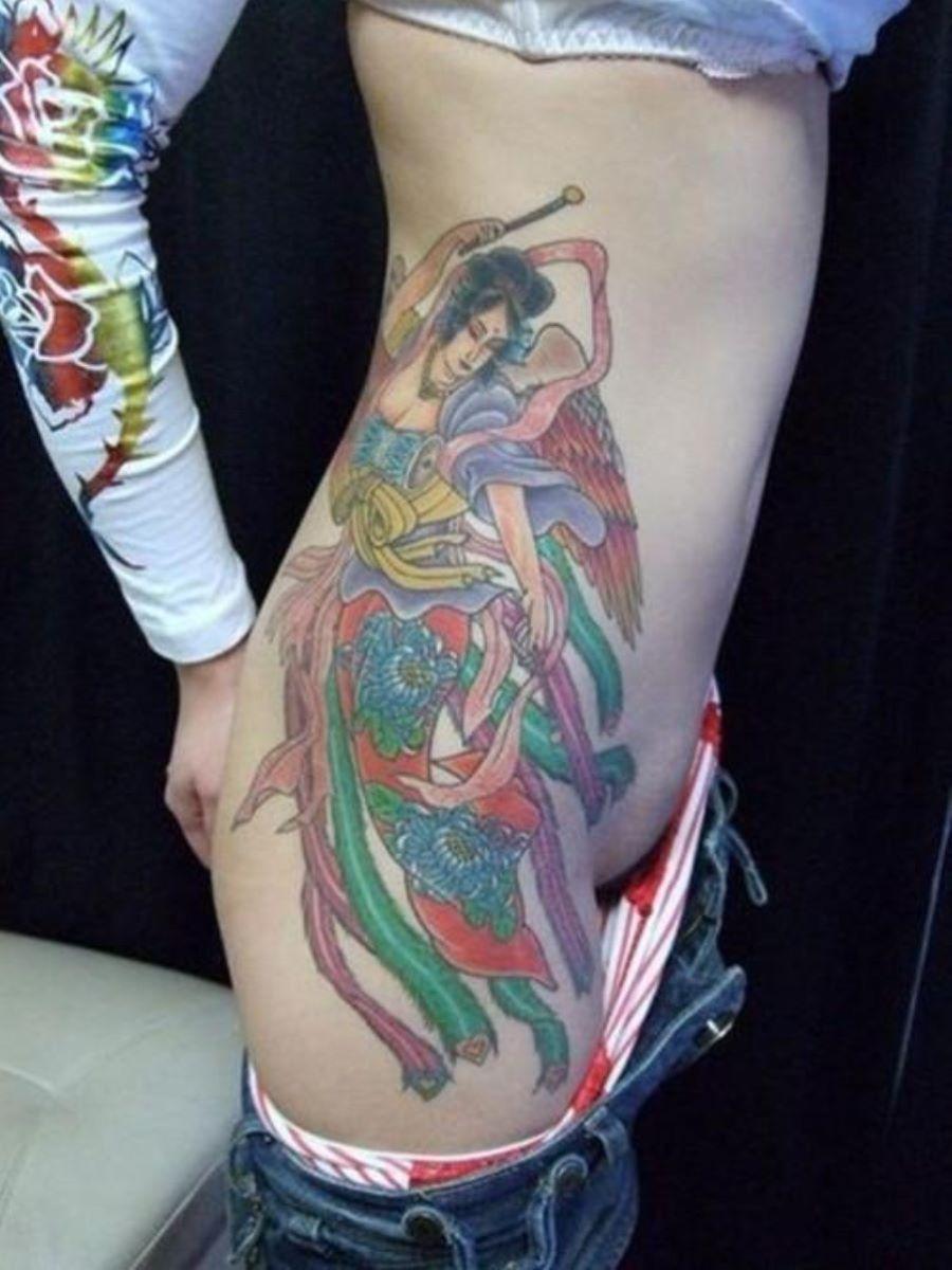 和彫りの刺青エロ画像 68