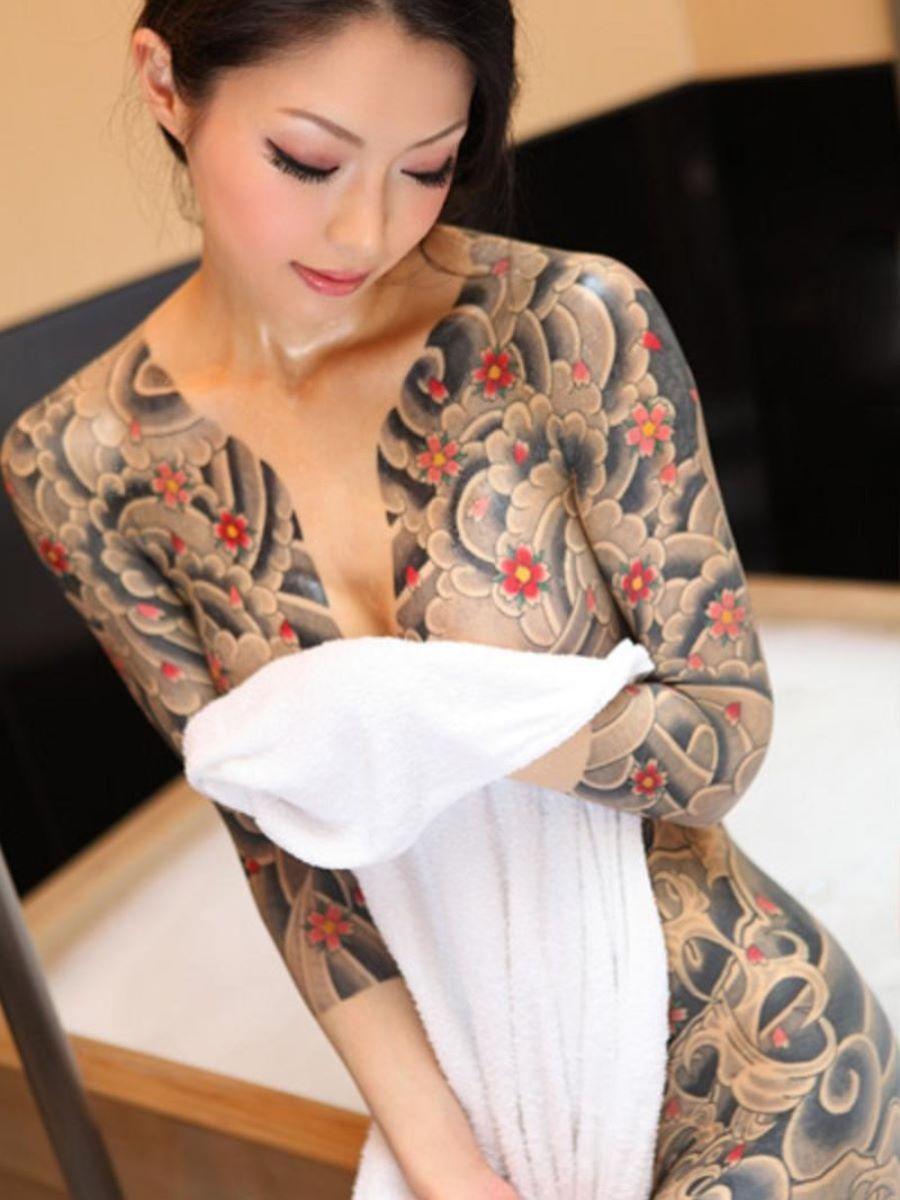 和彫りの刺青エロ画像 74