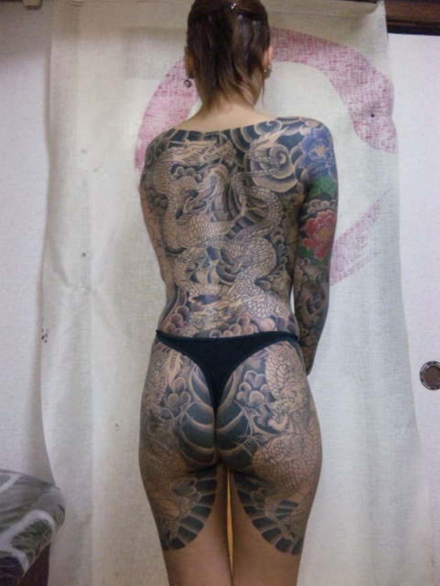 和彫りの刺青エロ画像 82