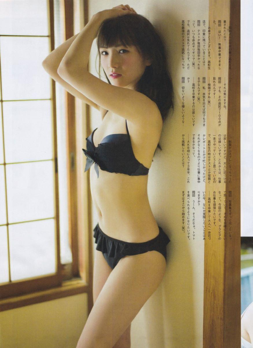 AKB 岡田奈々 エロ画像 100