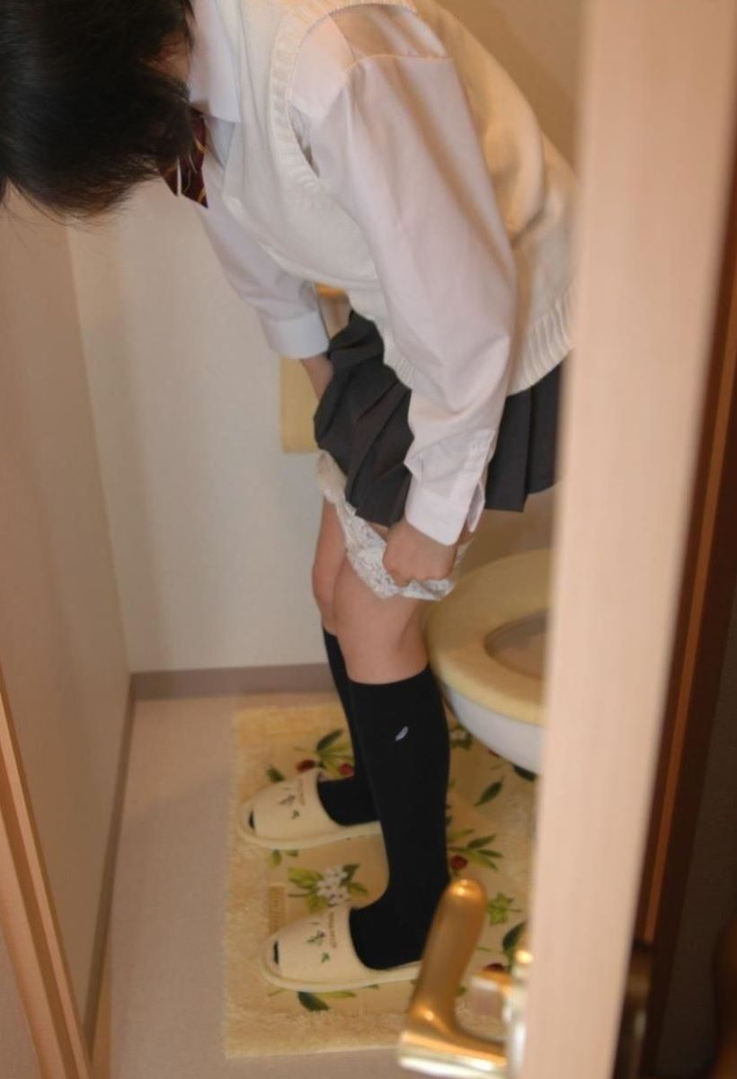 JK パンツ脱ぎかけ画像 128