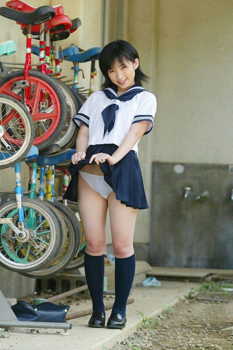 制服JK スカートめくり 画像 16