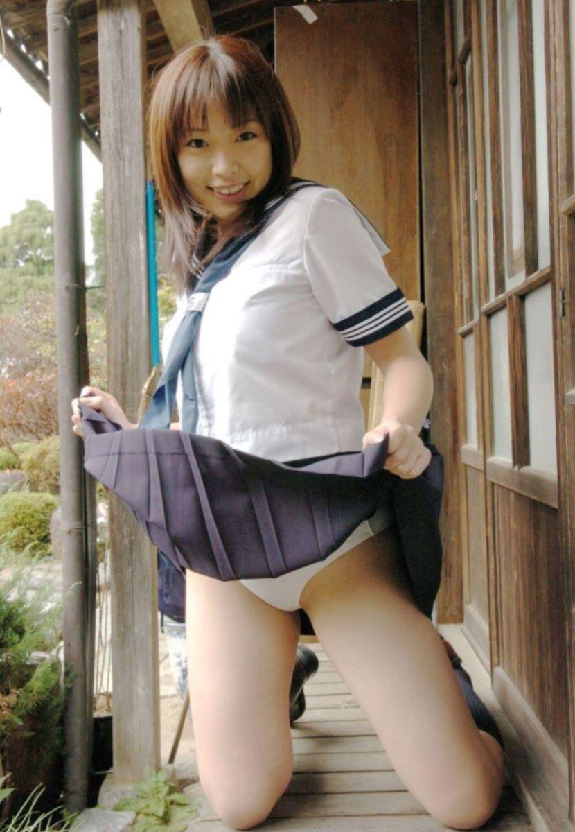 制服JK スカートめくり 画像 26