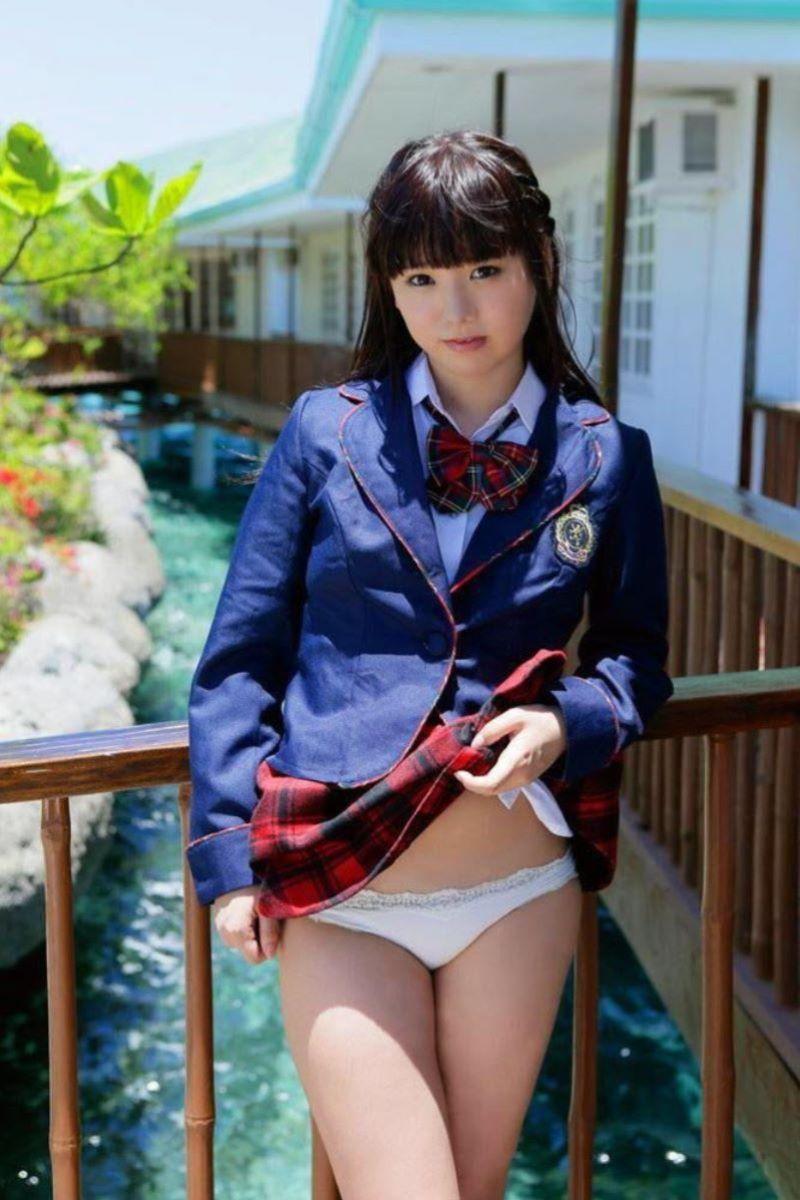 制服JK スカートめくり 画像 118