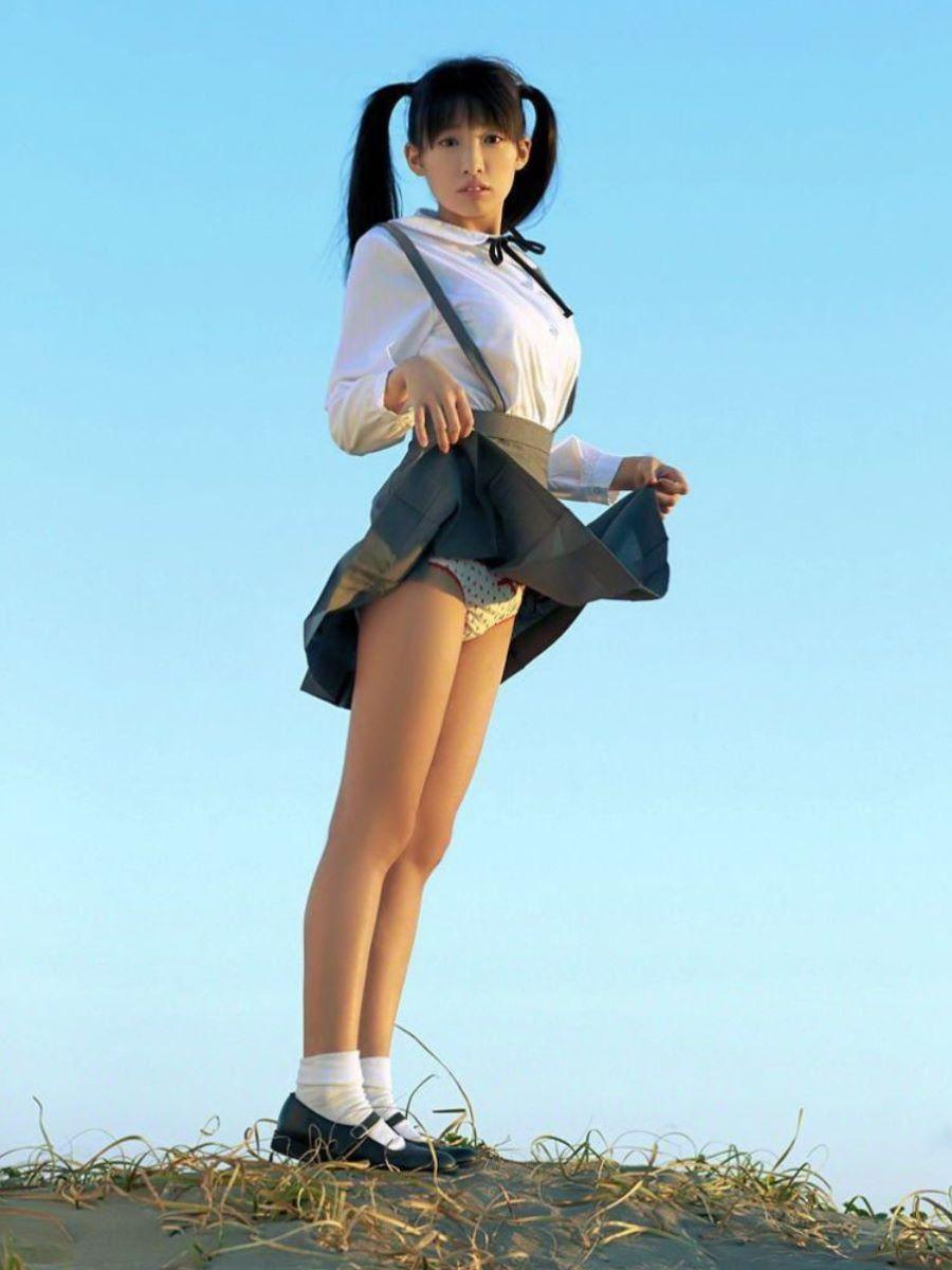 制服JK スカートめくり 画像 168