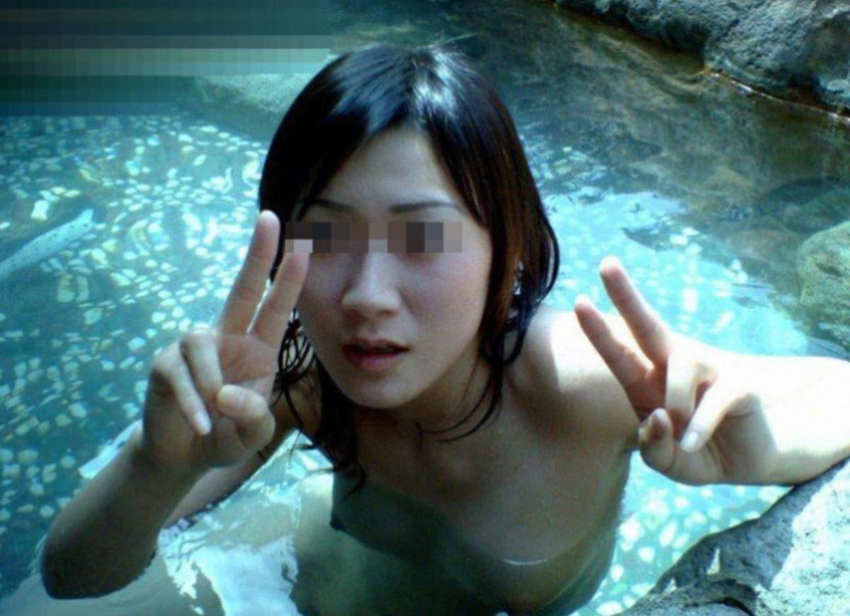 温泉旅行 素人ヌード画像 49