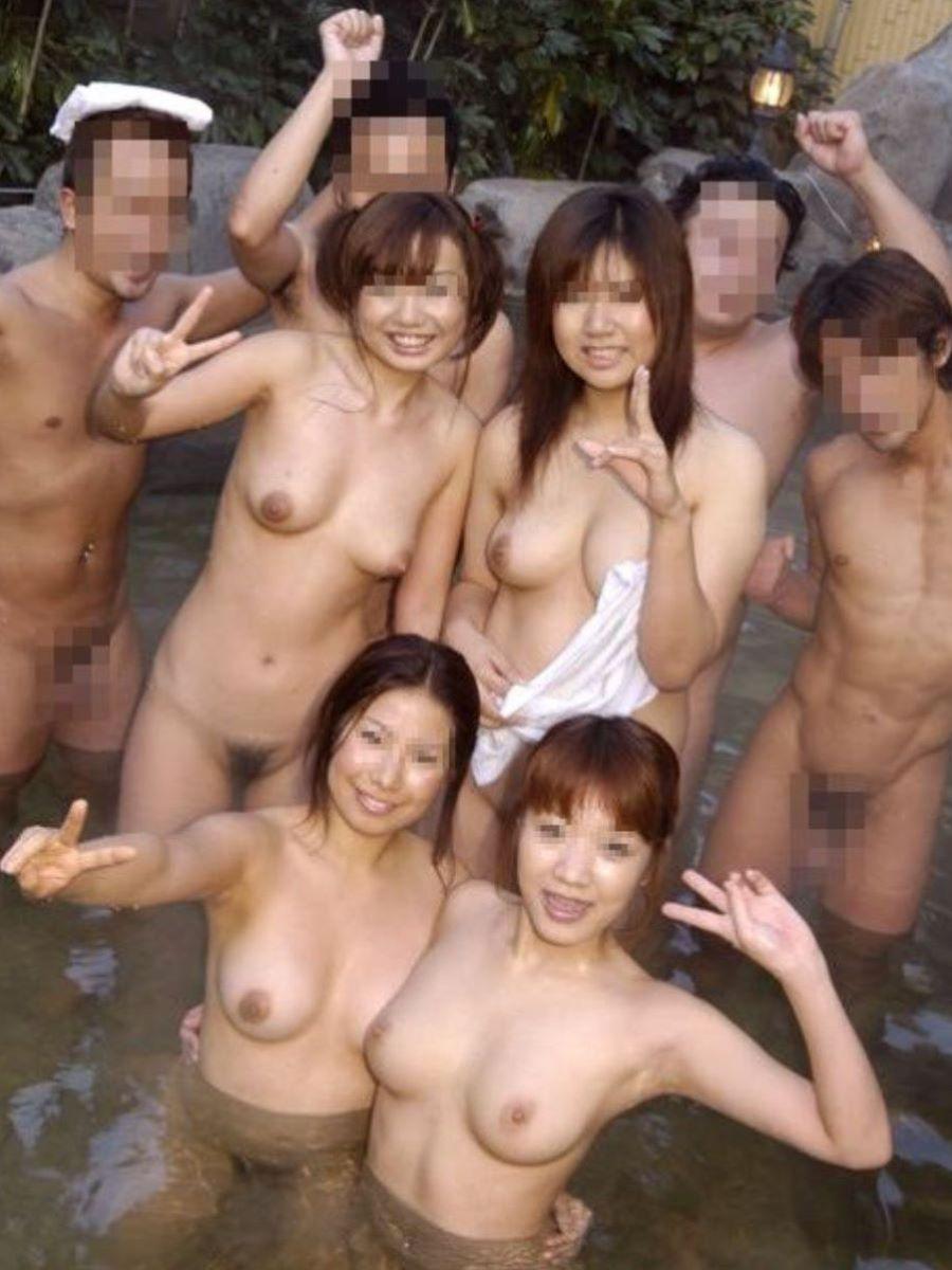 温泉旅行 素人ヌード画像 72