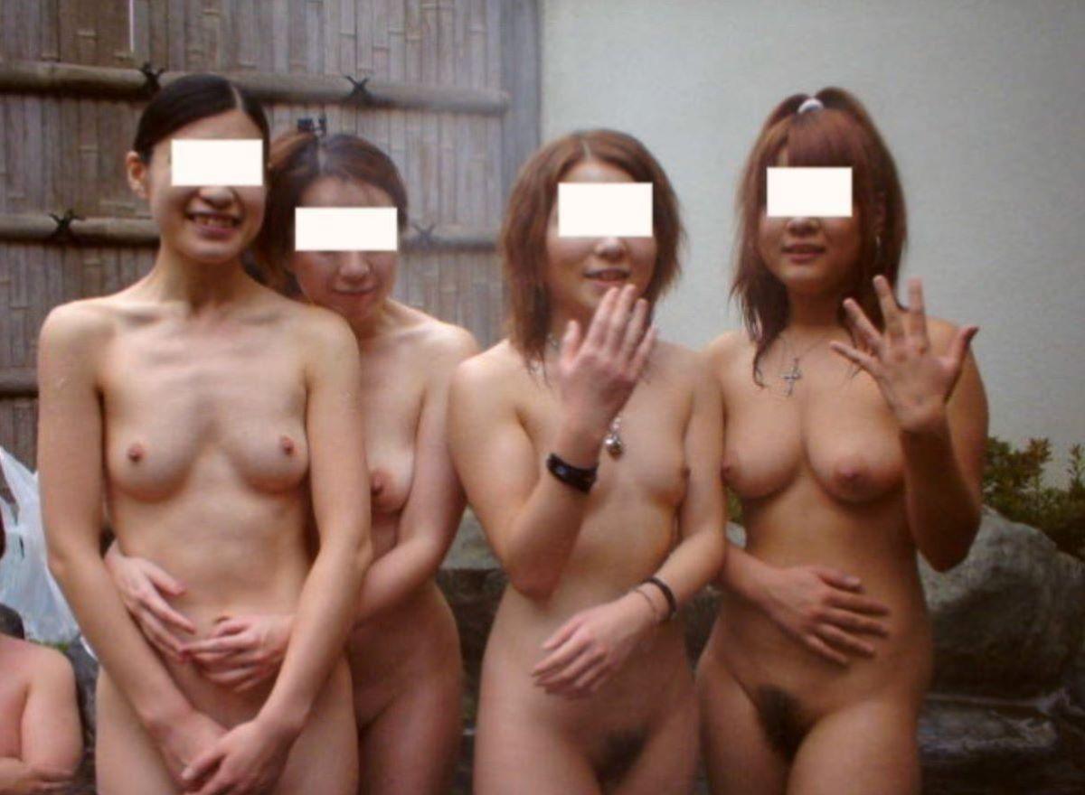温泉旅行 素人ヌード画像 90