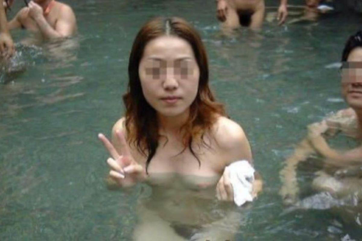 温泉旅行 素人ヌード画像 110
