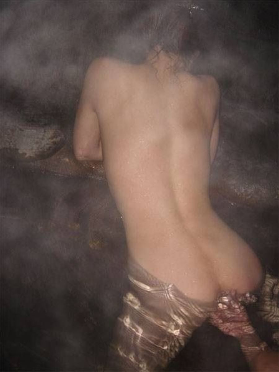 混浴露天風呂 エロ画像 119