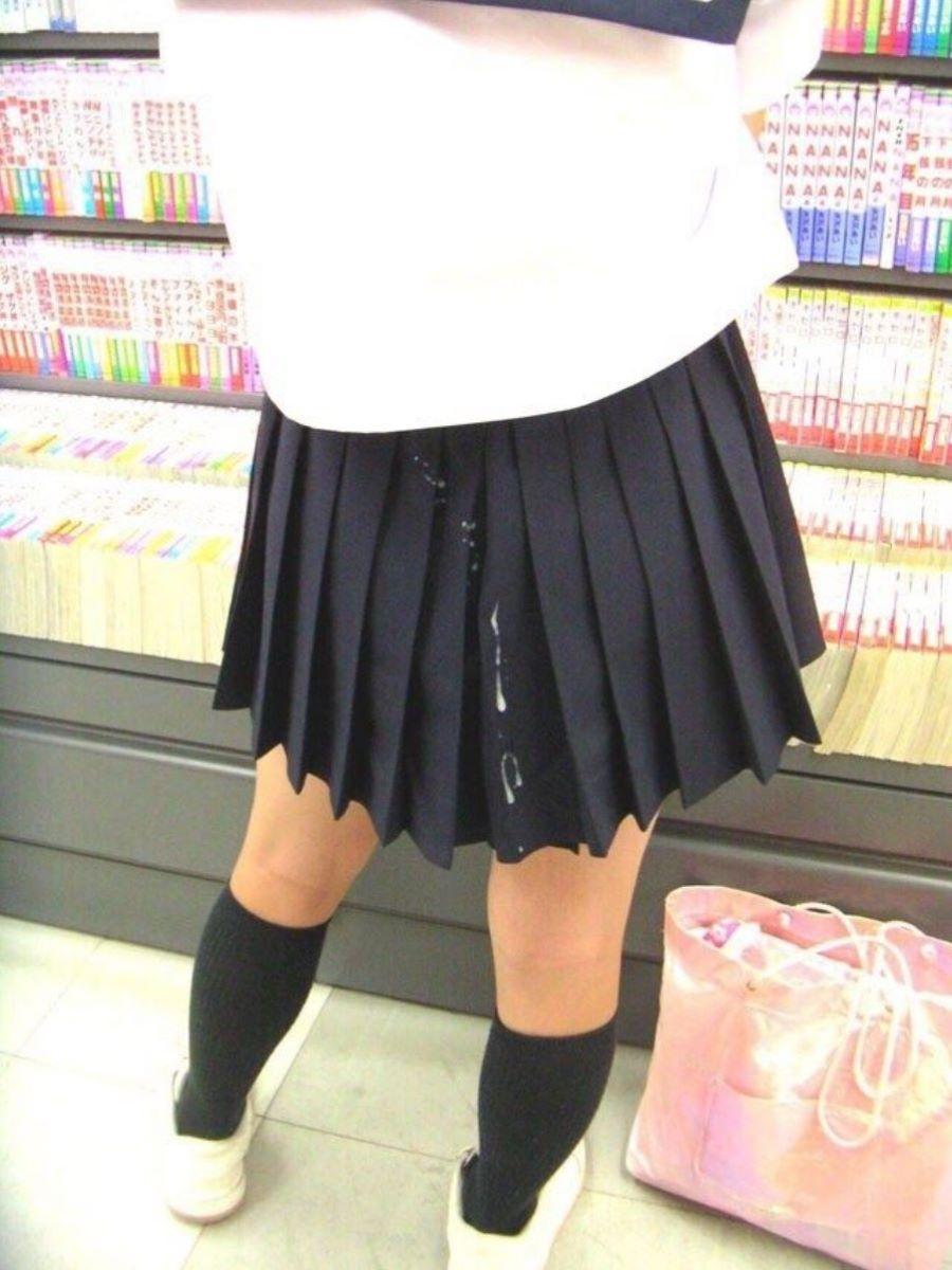 制服JK ぶっかけ画像 51