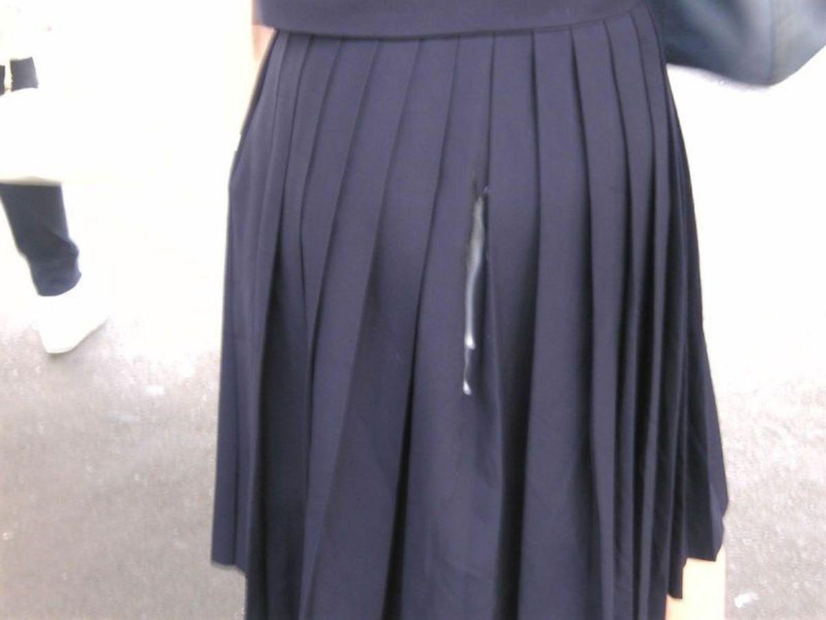 制服JK ぶっかけ画像 113