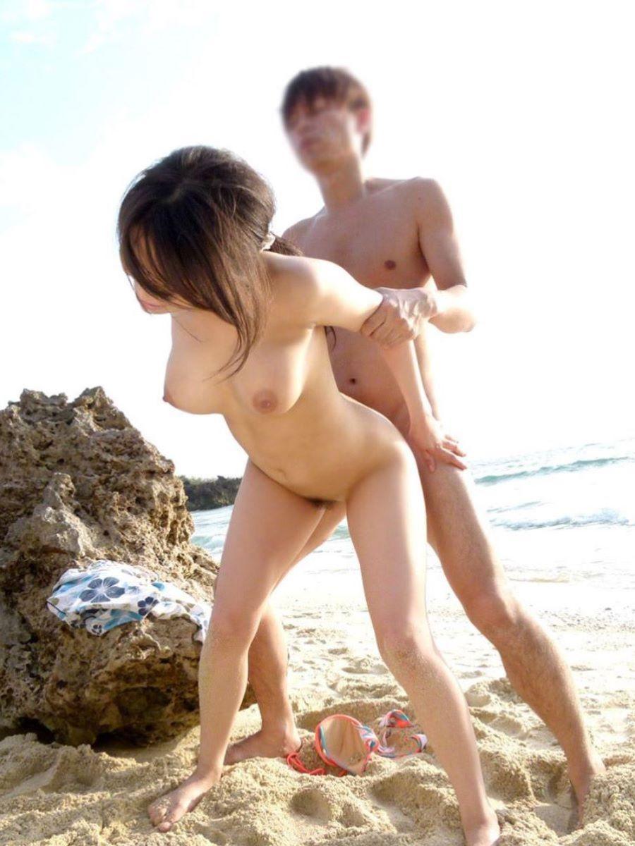ビーチセックス 画像 11