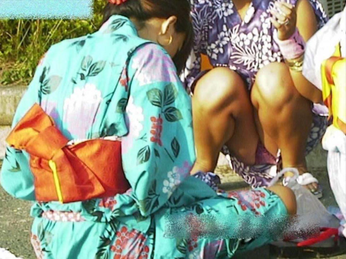 素人 浴衣 パンチラ画像 16