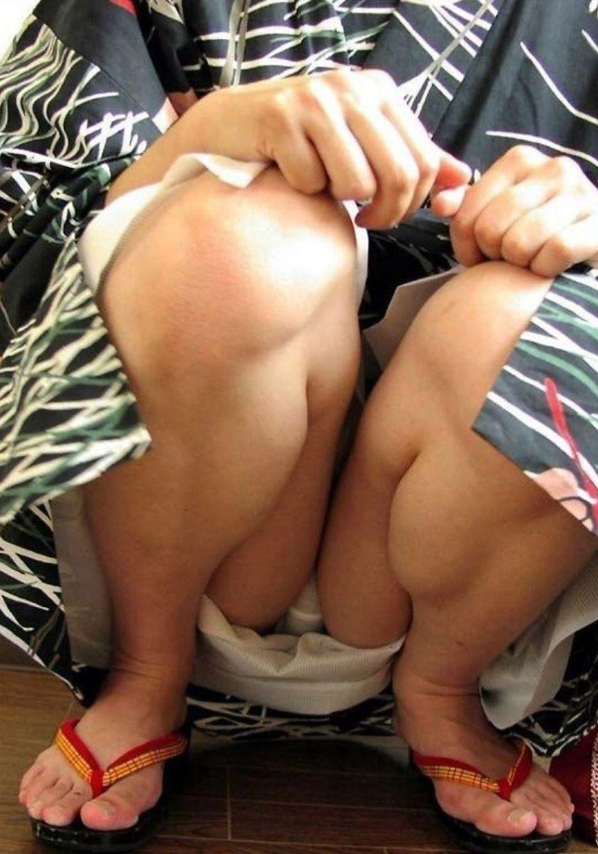 素人 浴衣 パンチラ画像 68