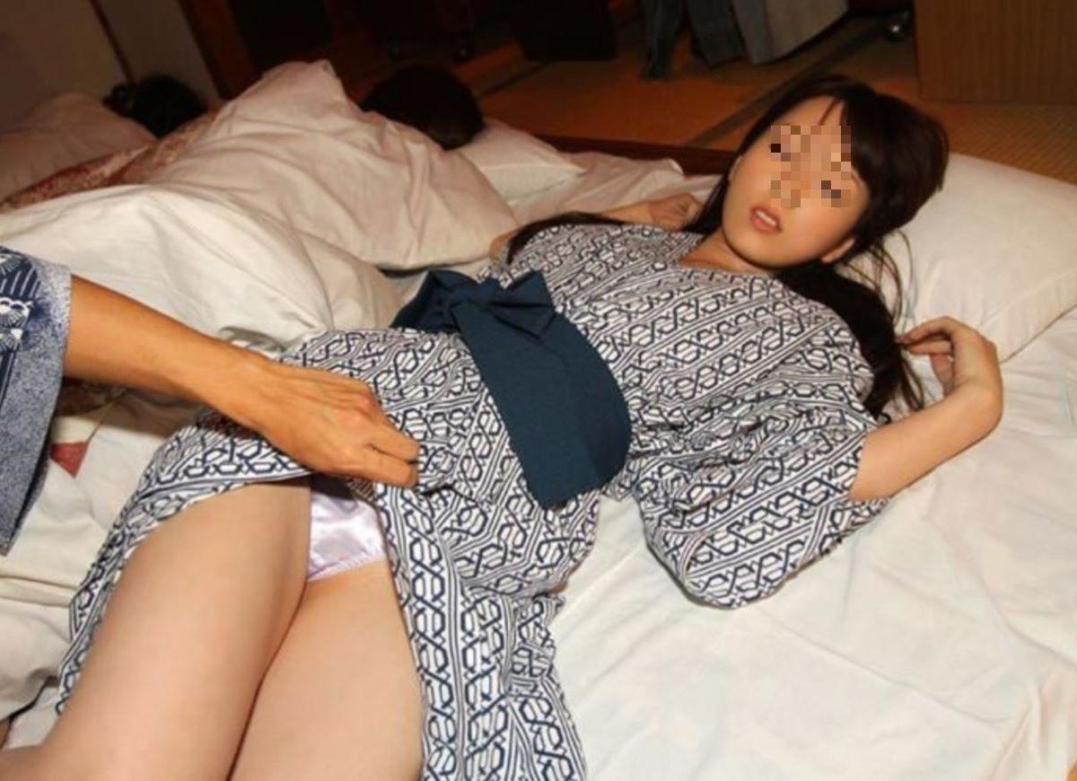素人 浴衣 パンチラ画像 89