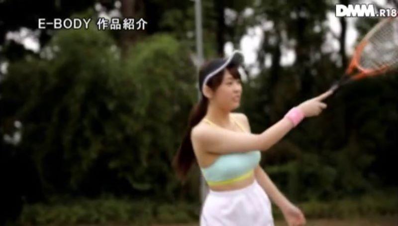 女子テニスプレーヤー 手塚ひかり 画像 24