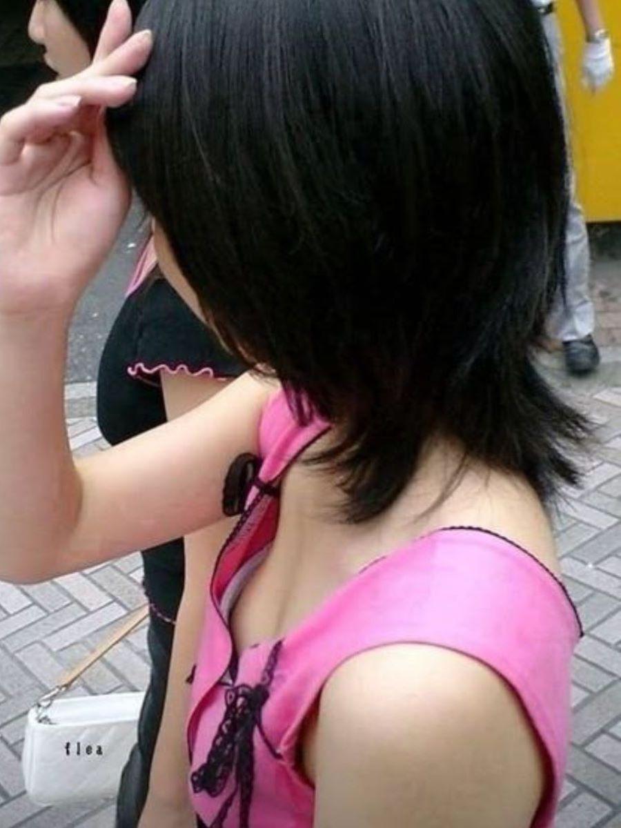 JK 胸チラ 画像 25