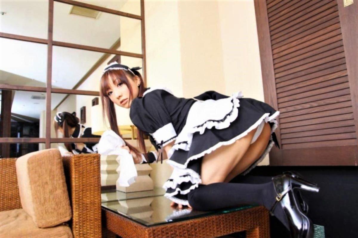 メイド コスプレ エロ画像 45