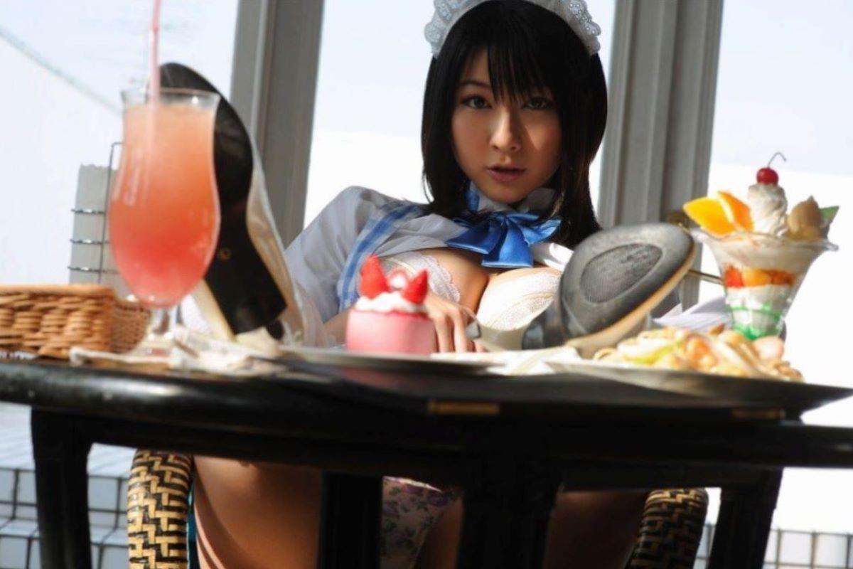 メイド コスプレ エロ画像 137