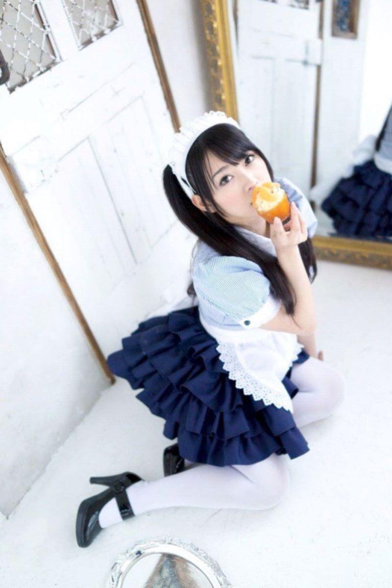 メイド コスプレ エロ画像 158