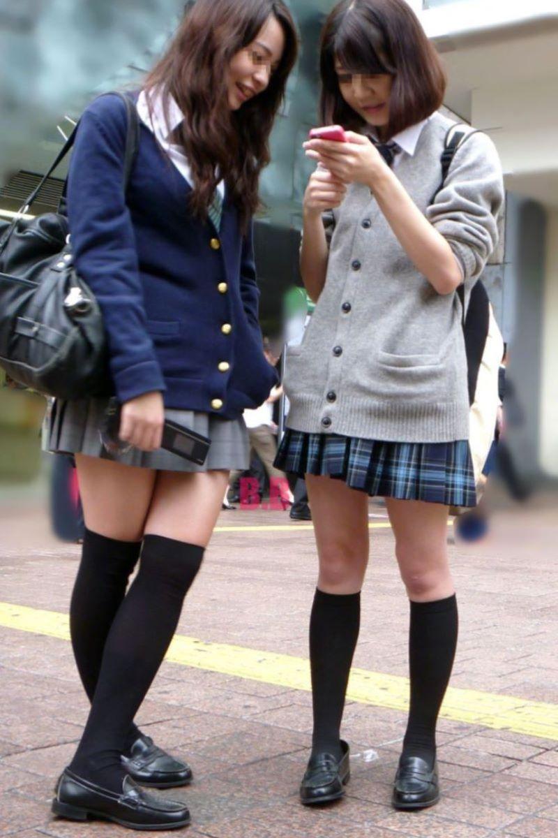 制服 ニーハイ 画像 34