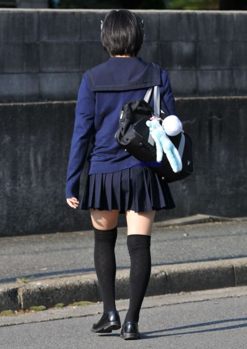 制服 ニーハイ 画像 52