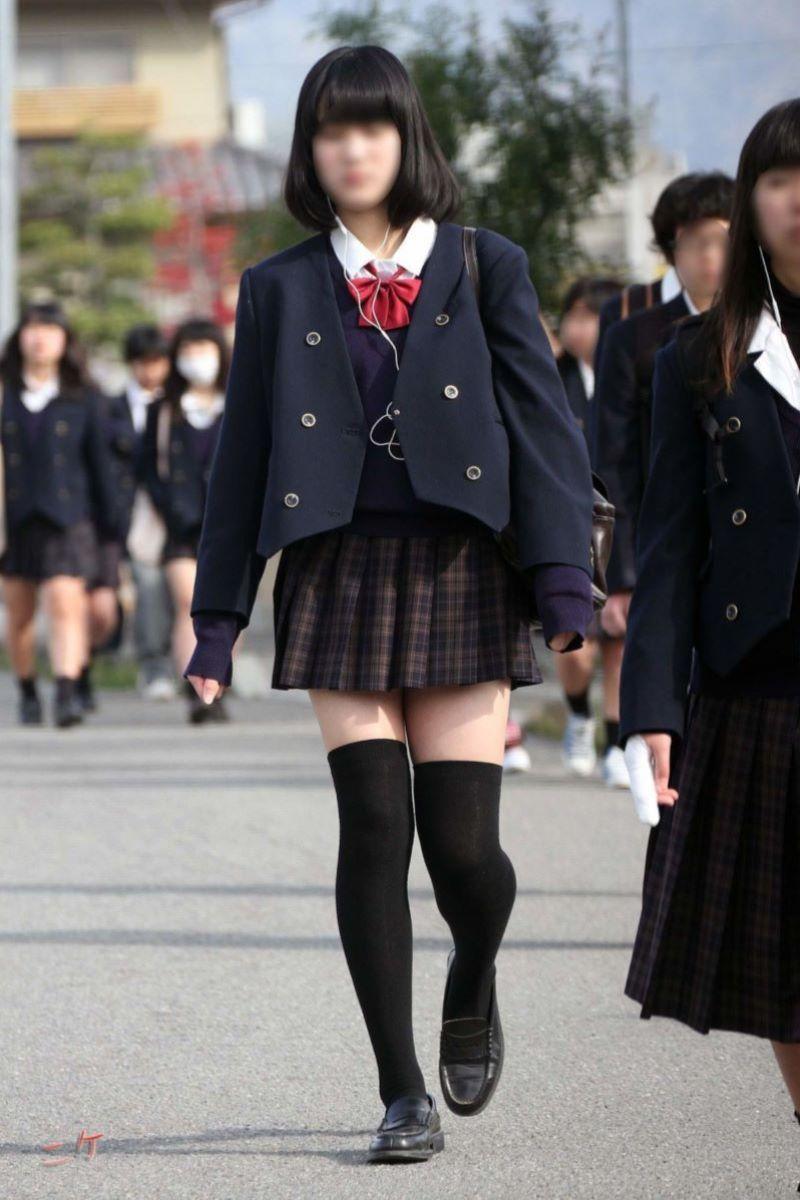 制服 ニーハイ 画像 55