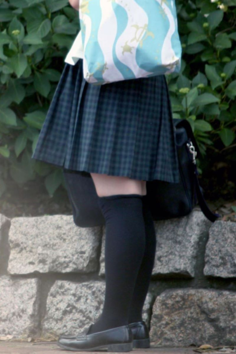 制服 ニーハイ 画像 93