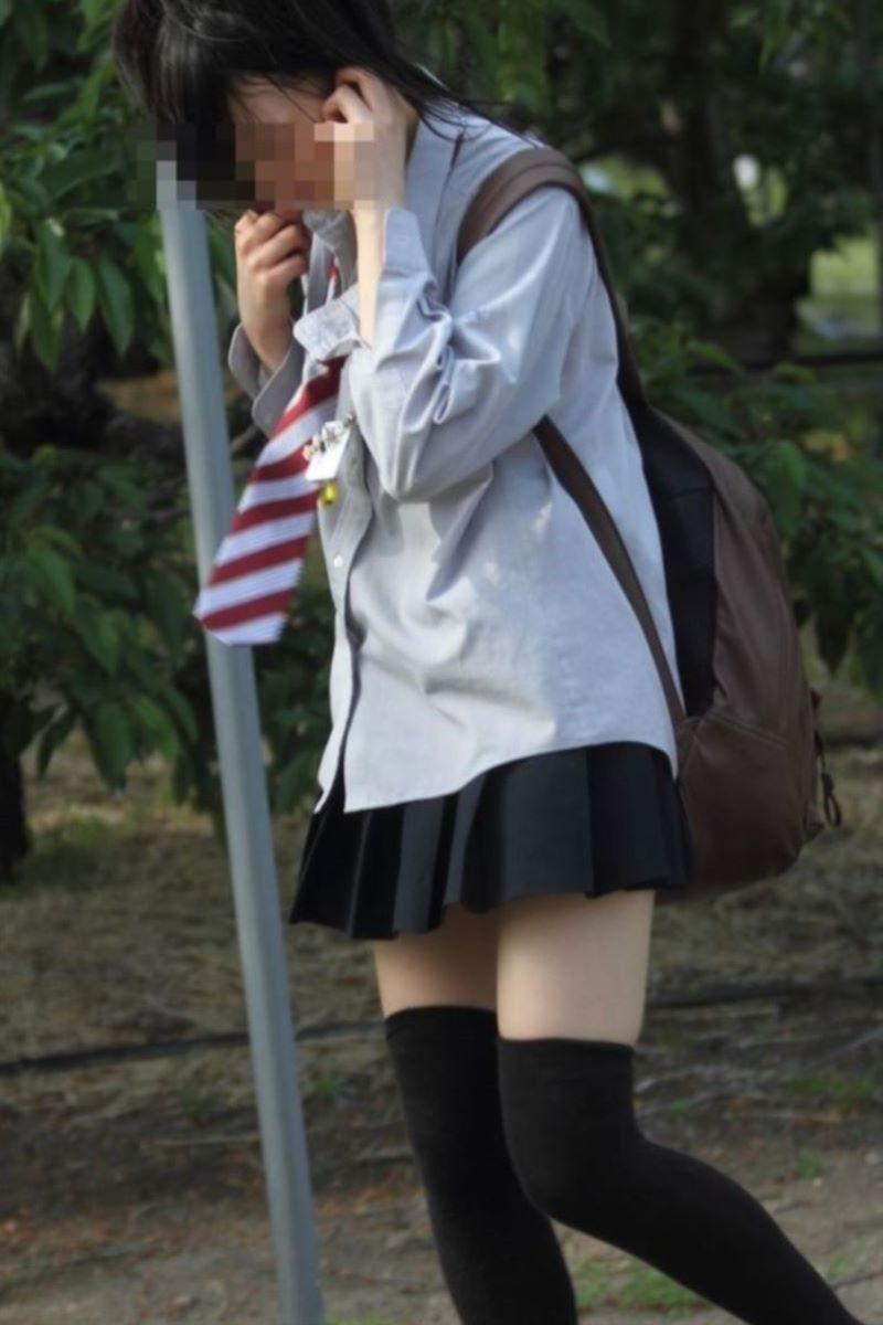 制服 ニーハイ 画像 126