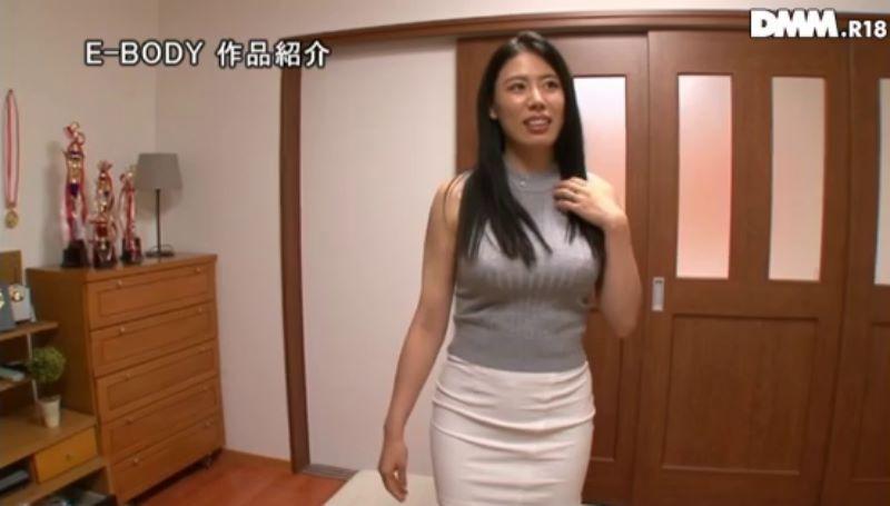 巨乳人妻スイマー 喜山エリカ 画像 23