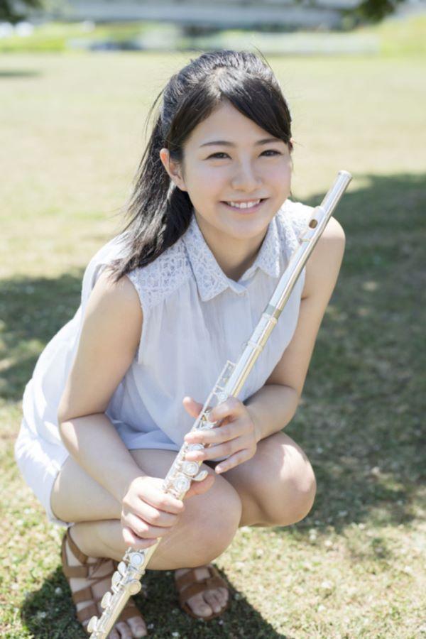 河原かえで(19歳)フルート女子のAVデビュー画像
